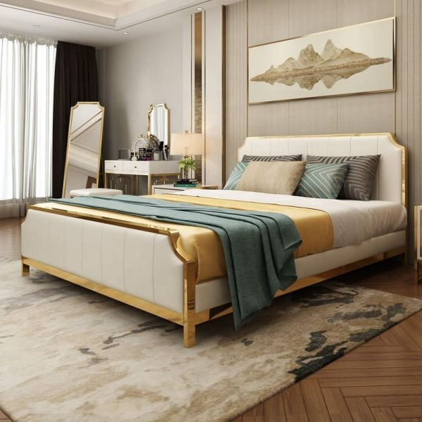 Giường ngủ bọc nệm cao cấp SGH - 09
