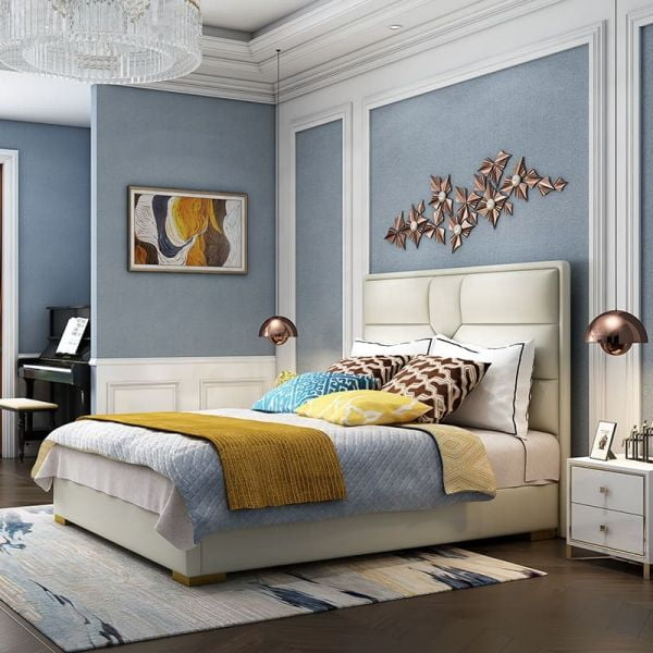 Giường ngủ bọc nệm cao cấp SGH - 10