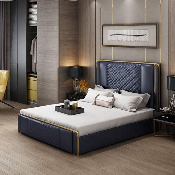Giường ngủ bọc nệm cao cấp SGH - 14