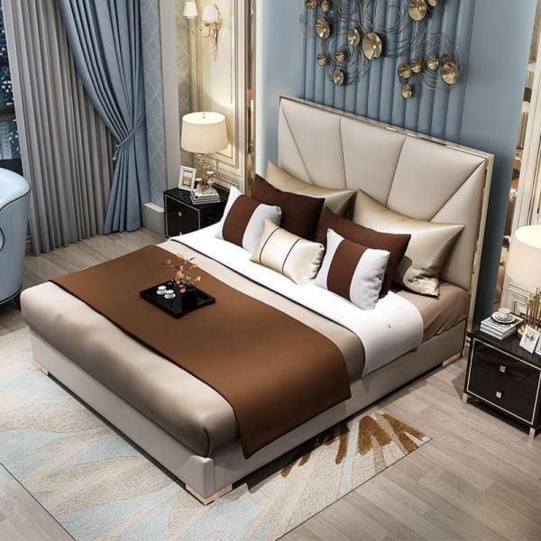 Giường ngủ bọc nệm cao cấp SGH - 06
