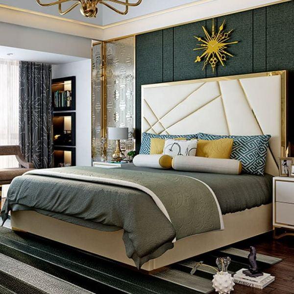 Giường ngủ bọc nệm cao cấp SGH - 07