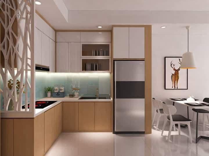 Mẫu tủ bếp đẹp giá rẻ tại thành phố HCM. Thiết kế, thi công nội thất trọn gói Saigon Homes