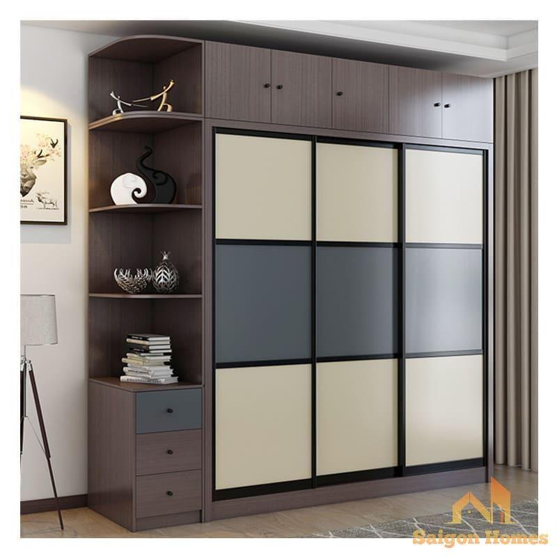thiết kế tủ áo đẹp phù hợp với căn hộ chung cư tại TP HCM