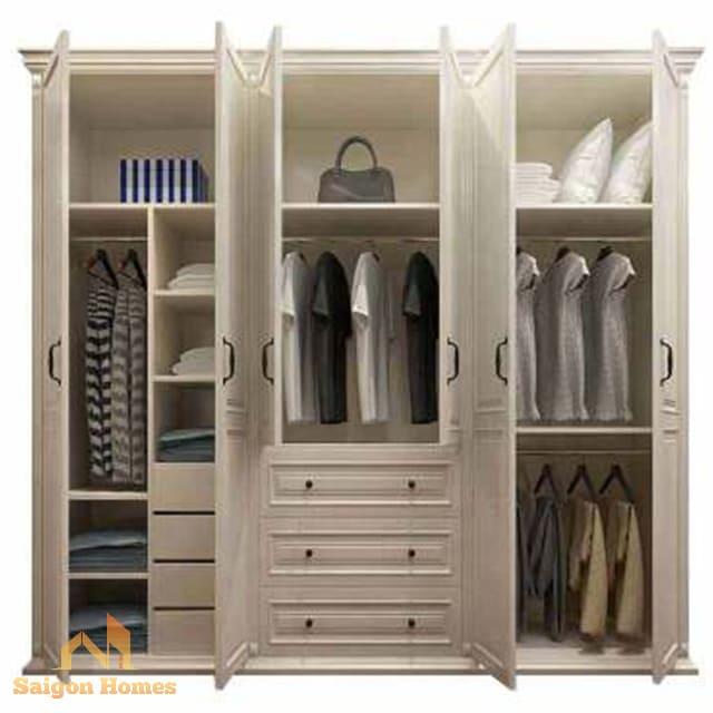 Thiết kế tủ quần áo hiện đại tại tp hồ chí minh