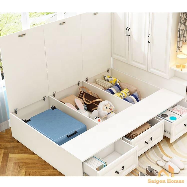 tủ quần áo liền giường đẹp tại tp hcm