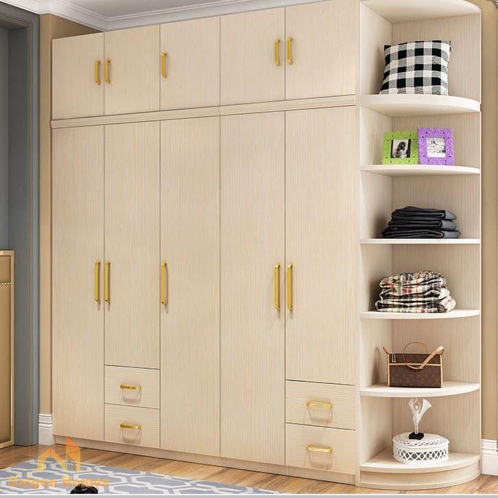 Mẫu thiết kế tủ quần áo đẹp cho căn hộ chung cư tại Tp HCM